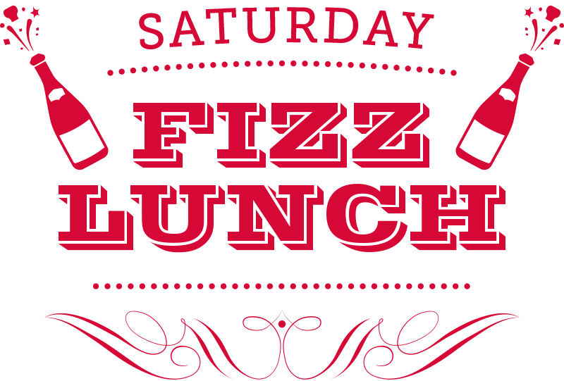 Saturday Fizz Menu - 1.5 hours unlimited Prosecco and 3-course meal for £25
